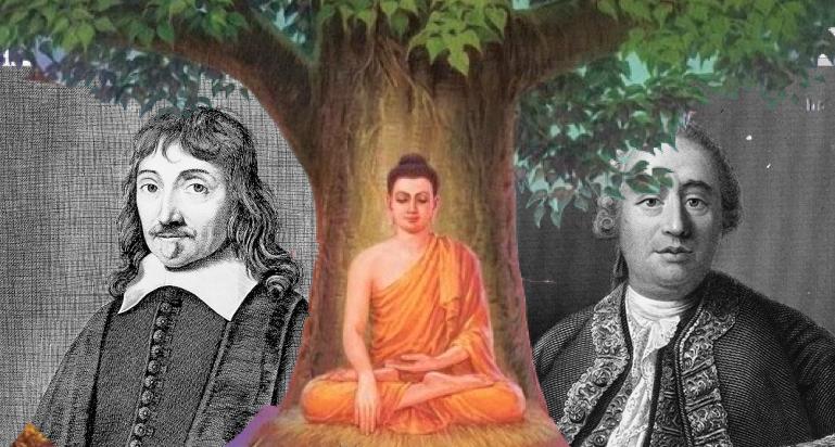 Cartesio Buddha Hume